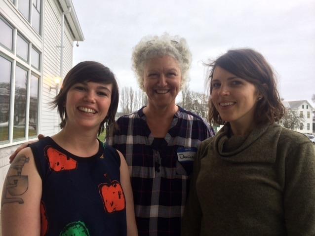 Madeline Moore, Denise Pranger, and Malloree Weinheimer